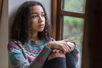 A third of teenagers experience mental health problems image
