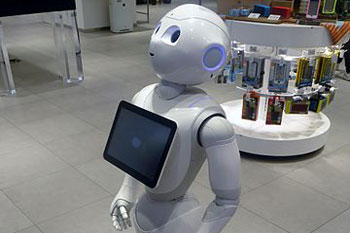 Are robots the key to solving social care crisis? image