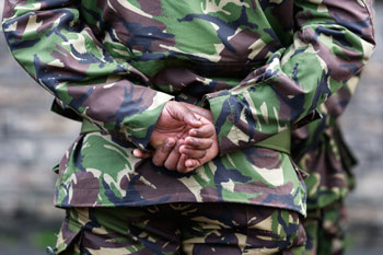 Armed forces members 'disadvantaged' by service  image