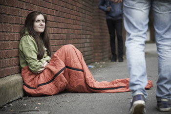 Benefit cuts forcing young people into homelessness, charity says image