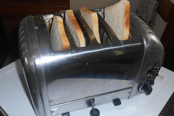 Bradford Tories defend their right to make toast image
