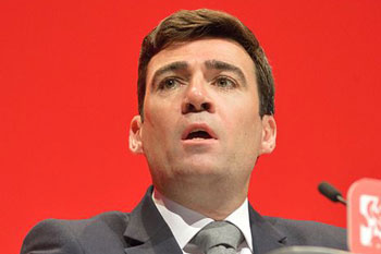Burnham launches plan to make Greater Manchester an 'ambitious hub' image