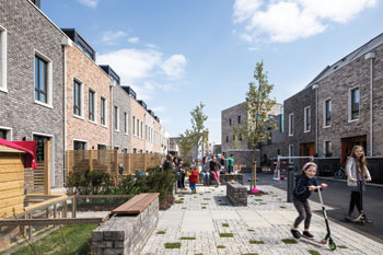 Cambridge's pioneering cohousing scheme image
