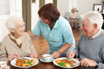 Care homes spend less than £3 per resident on food image