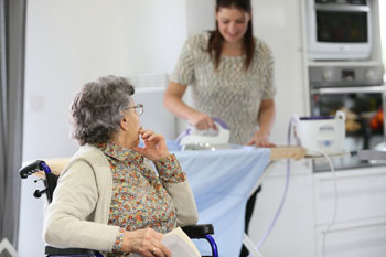 Carers' health 'sacrificed' to support cash-strapped care system image