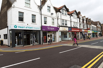 Charity shops face business rates relief 'postcode lottery' image