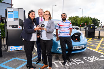 Combined authority launches West Yorkshire's 'largest' electric vehicle charging network image
