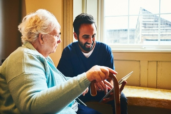 Commission calls on councils to improve digital services for social care image