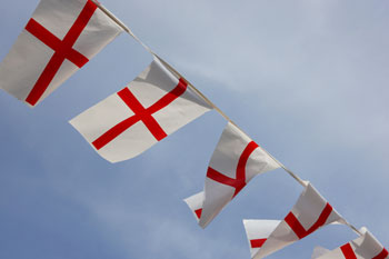 Council advised to remove biased England flags from polling station image