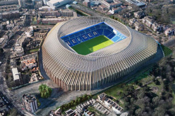 Council approves Chelsea FC's new £500m stadium image