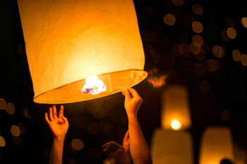 Council bans release of sky lanterns and balloons image