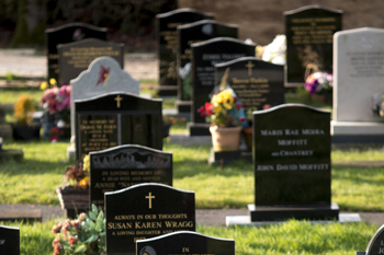 Council blasted by mum after removing son's gravestone image