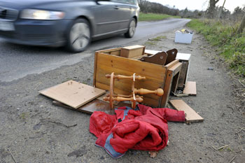 Council chiefs call for more 'streamlined' system to prosecute fly-tippers  image