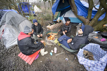 Council chiefs to visit 'Calais jungle' migrant camp image