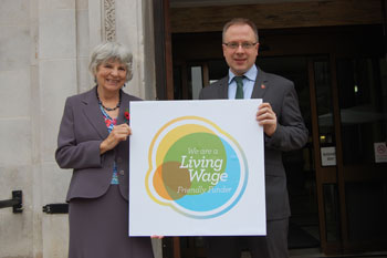 Council first to request charities pay Living Wage to staff image