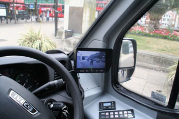 Council fits buses with technology to detect cyclists image