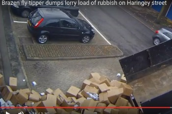 Council hits out at paltry fly-tipping fine image