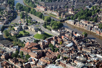 Council leader welcomes £77m funding to invest in York city centre image