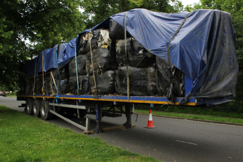 Council left with £80k bill to clean up four abandoned trailers image