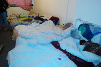 Council officers discover up to 40 people crammed into three-bedroom house image