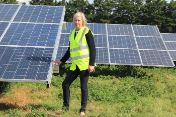 Council-owned solar farm generates £1.2m for frontline services image