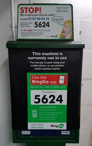 Council sees savings and additional income of £120,000 with help of RingGo image