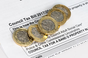 Council tax bills to increase by an average of 4.5% image