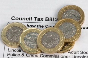 Council tax hits £2,000 barrier in two regions image