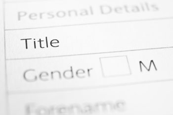Council to adopt gender neutral title on forms image