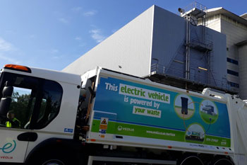 Council to pilot electric bin lorries powered by waste image
