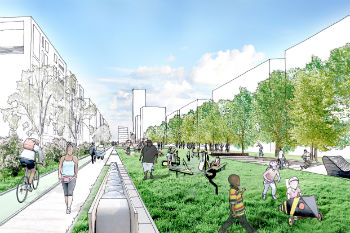 Councillors force review of controversial £2bn regeneration scheme image