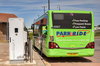 Councils awarded £11m for green buses image