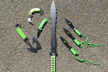 Councils back ban on zombie knives image