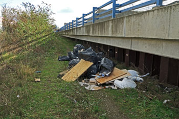 Councils call for tougher punishments for fly-tippers image