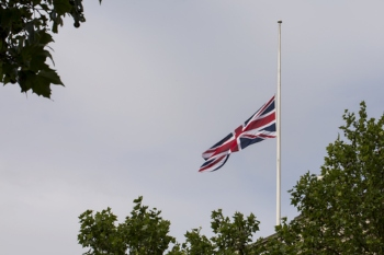 Councils fly flags at half-mast to honour Captain Sir Tom Moore image
