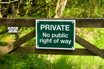 Councils report tensions over Public Right of Way image