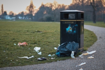 Councils spending thousands on littering epidemic in parks image