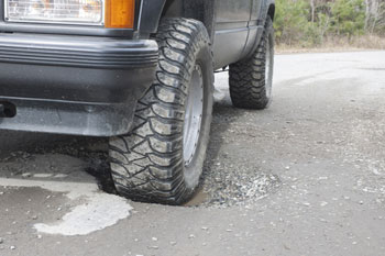 Councils to trial new pothole-spotter technology image
