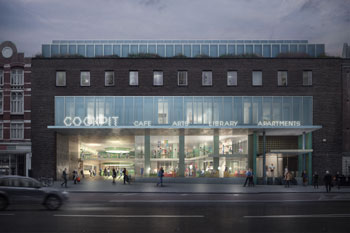 Developer selected to regenerate Holborn sites image