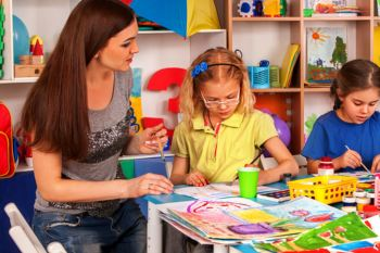 Disadvantaged children less likely to benefit from free childcare, auditors warn image