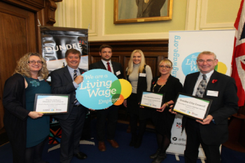 Dundee Council recognised for driving Living Wage image