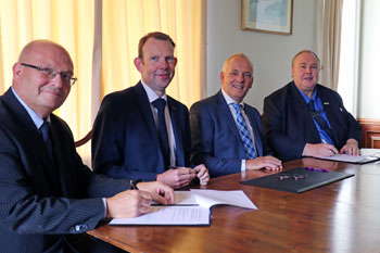 East Anglian counties sign business agreement with Dutch officials image