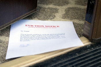 Evictions suspended for a further two months image