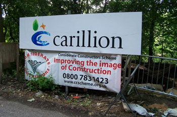 Government pledges to protect public services following collapse of Carillion image