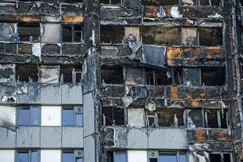Grenfell cladding over 50 times more flammable than safer alternative image