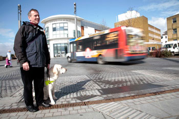 Guide Dogs calls for dangerous street designs to be halted image