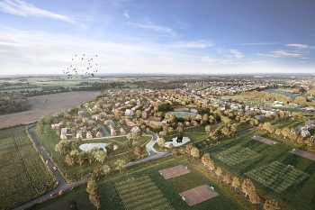 Hampshire councils sign £1.2bn joint venture for new garden community image