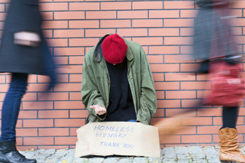 Homeless people being denied mental health services image