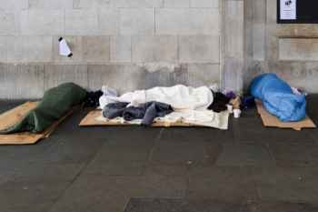 How accurate is the annual rough sleeping count? image