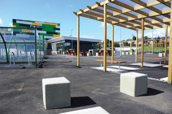 How street furniture can discourage antisocial behaviour image